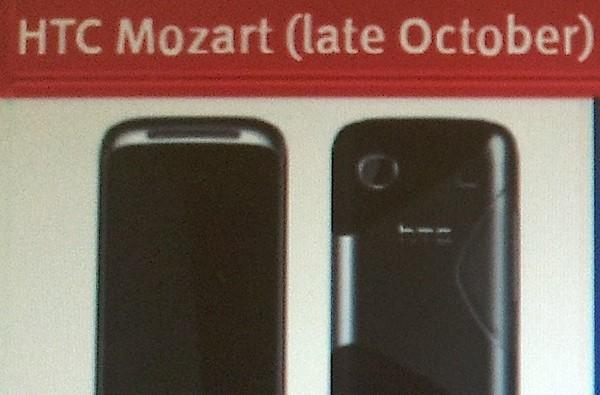 HTC Mozart Windows Phone 7 specifications leak, 'late October' UK launch confirmed