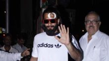 PHOTOS: An injured Ranveer Singh clicked at Lilavati hospital post treatment