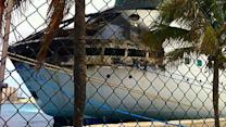 Passengers arrive in US after cruise ship fire