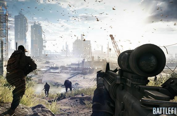 Battlefield 4 gets even prettier with new AMD drivers