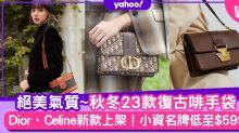 名牌手袋|入門保值百搭焦糖啡色手袋23款!Dior Bobby、Celine 16秋冬經典名牌手袋