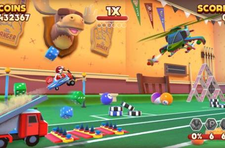 Joe Danger Infinity dropped to 99 cents on iOS