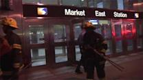 Woman injured after falling on subway tracks in Philadelphia