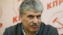 Russia excludes senior Communist candidate from parliamentary vote