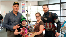 These 'Avengers' stars are heroes in real life