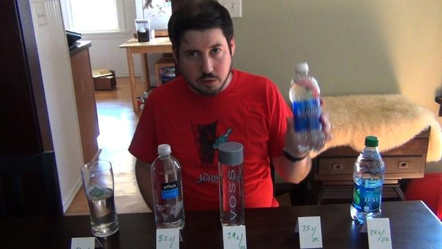 Supertaster Daily: 5-in-3 Bottled Water Taste-Off
