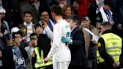 Ronaldo uses phone to see how busted his face is