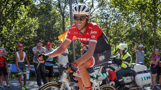 Stomach bug taking a bite out of Contador's 'Grand' finale