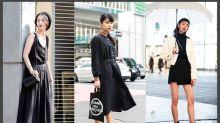 40+ 黑色造型街拍:向最會穿搭的日本女生偷師,炎夏亦無減對黑色之熱愛!