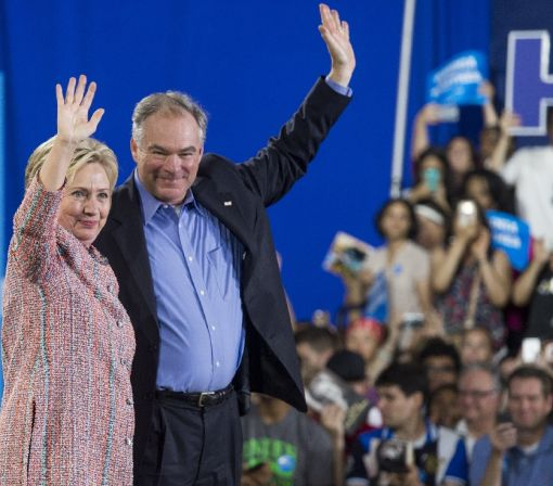 Tim Kaine: swing state senator with foreign policy clout