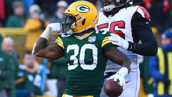 huge discount edf3f 0439f Jamaal Williams is all that's left in Green Bay's backfield