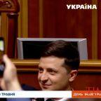 Volodymyr Zelenskiy Sworn in as Ukraine's New President