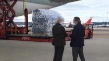 Llega a España un avión procedente de China con 120.000 test para sanitarios y cuerpos de seguridad