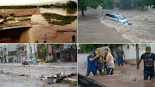 FOTOS | Desastre en Sinaloa por intensas lluvias