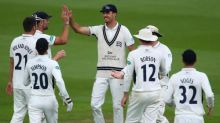 Toby Roland-Jones excels for Middlesex but back issue causes concern