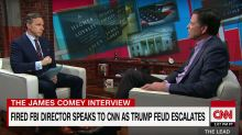 James Comey's book tour is not going well for him