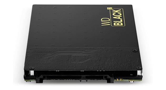 Western Digital Black2 drive packs both solid-state and spinning storage