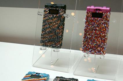 Swarovski bejewels Samsung's 707SC for Softbank