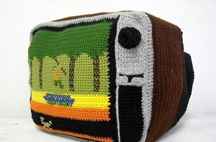 Sewing the seeds of retro: crocheted Atari 2600