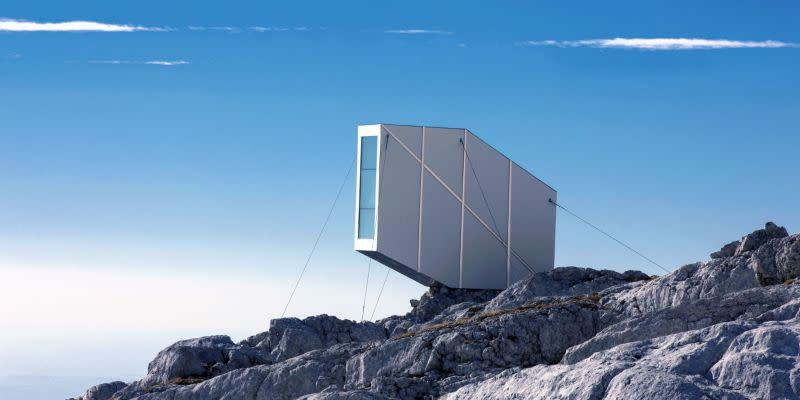 The kanin winter cabin el refugio a la orilla de la - Plantas que aguantan temperaturas extremas ...