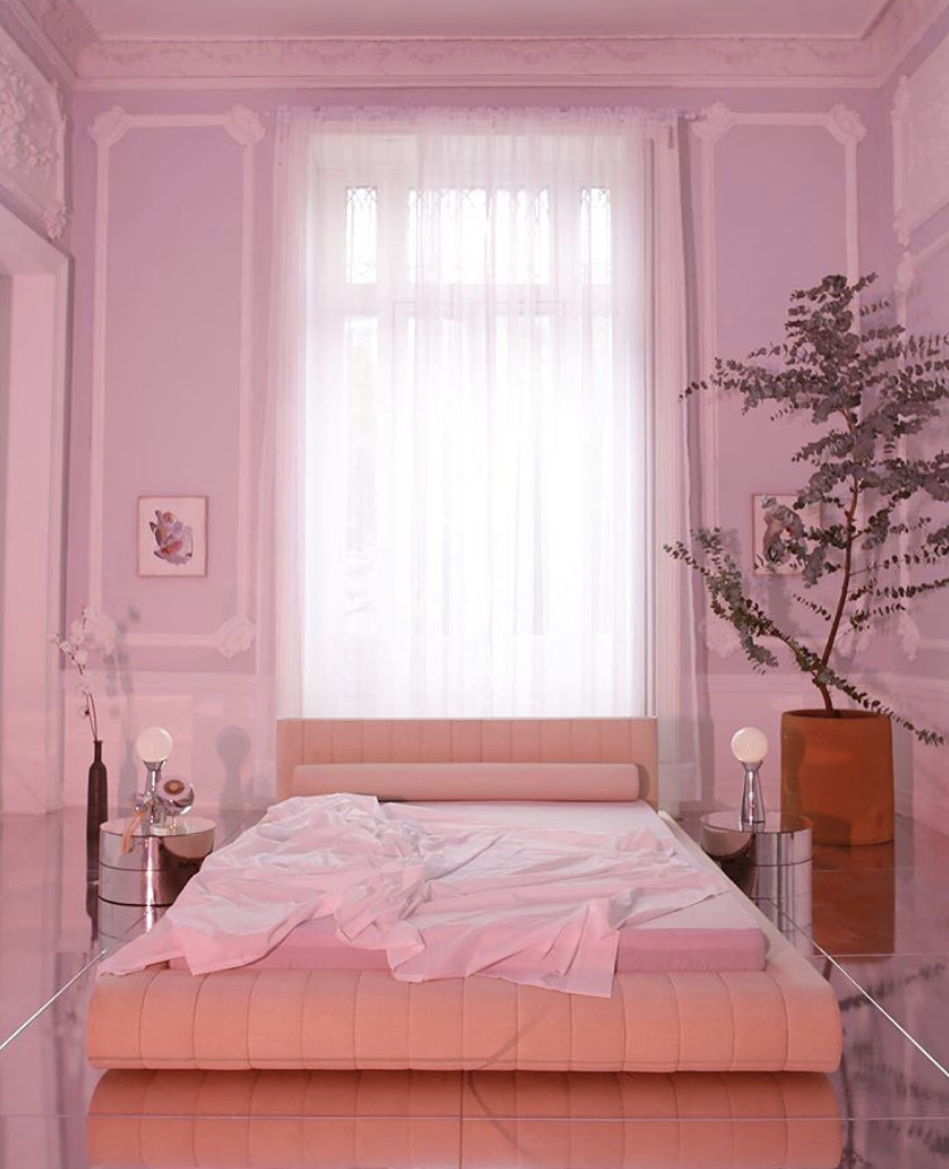 Why overcomplicate things? Just situate your bed in front of a window and let nature do the rest.