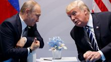 Donald Trump congratulates Vladimir Putin on election win and pledges talks in 'not too distant future'