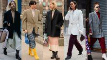 Big, Boxy Blazers Were a Street Style Favorite on Day 5 of New York Fashion Week