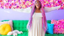 This artist's rainbow home is the stuff of Instagram dreams