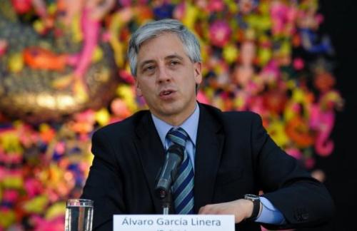 El vicepresidente de Bolivia, Álvaro García, durante una visita oficial a La Habana, el 17 de enero de 2011.