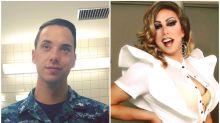 Soldado da marinha quebra padrões ao se revelar drag queen