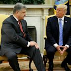 Trump Meets Poroshenko As US Imposes Sanctions On Russia Over Crimea
