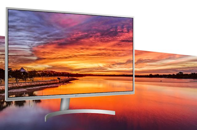 LG's 32-inch QHD monitor packs AMD FreeSync for around $300