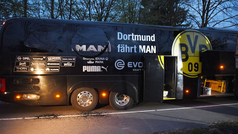 La extrema derecha se atribuye el ataque al bus del Borussia Dortmund
