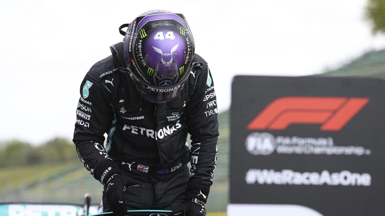 Hamilton takes Imola pole, Ricciardo 6th