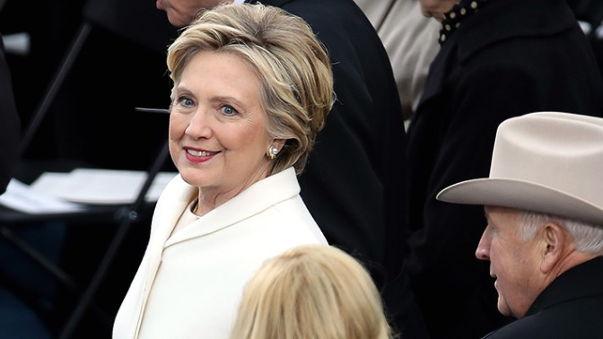 Symbolism of Hillary Clinton's inaugural outfit