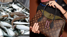 Grandma Used Her $1,260 Leather Louis Vuitton Bag to Carry Fish