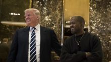 Kanye West doesn't agree with 'half the s*** Trump does' but will still wear the MAGA hat