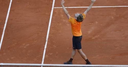 Tennis - ATP - Monte-Carlo - David Goffin : la victoire face à Novak Djokovic lui «ouvre l'appétit»