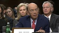 Wilbur Ross Declares He's Pro-Trade in Confirmation Hearing