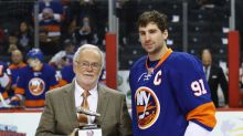 'Hired by the fans': Islanders honor Jiggs McDonald for 50 years in broadcasting