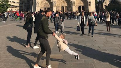 Mystery man in viral Notre Dame photo found