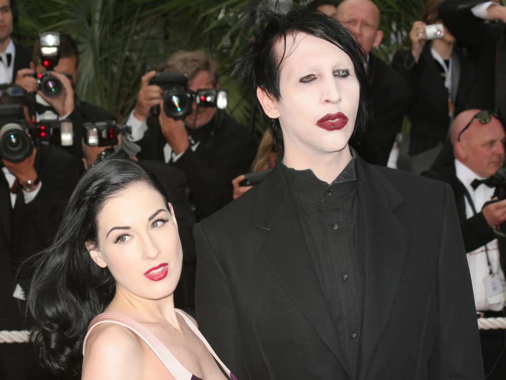 Dita Von Teese verteidigt ihren Ex-Mann Marilyn Manson