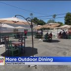 Restaurants Using Parking Lots To Expand Outdoor Seating To Comply With New Safety Orders