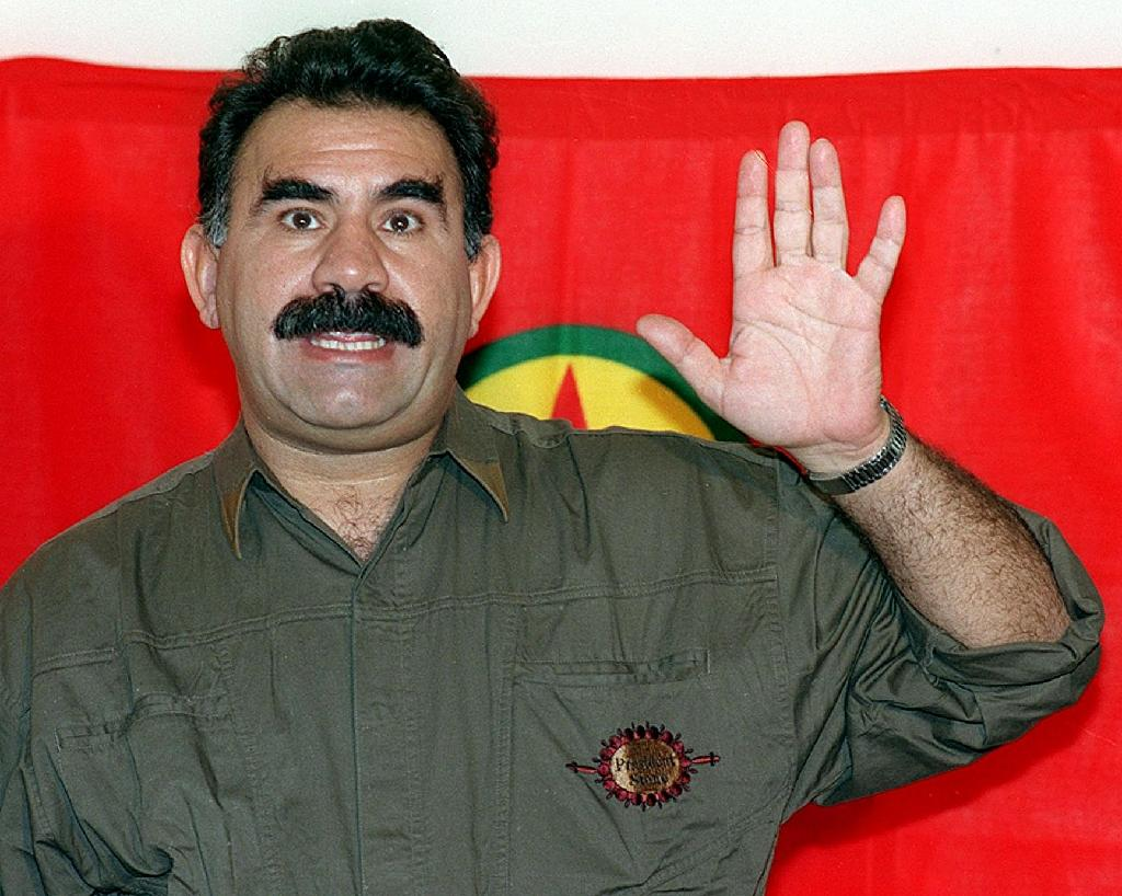 Abdullah Ocalan founded the armed movement to fight for greater rights for Turkey's Kurds in the 1970s and led a bloody insurrection against the Turkish (AFP Photo/Joseph Barrak)
