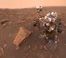 NASA's Curiosity rover took a badass Mars selfie during a huge dust storm