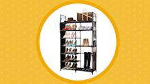 Sales of this space-saving shoe rack were up 58,000% on Amazon Canada this week: Here's why