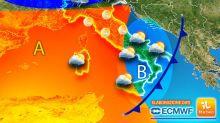 Meteo, weekend caldo ma lunedì torna l'inverno