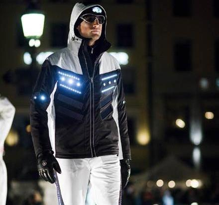Bogner's Solar-Powered Ski Suit from space