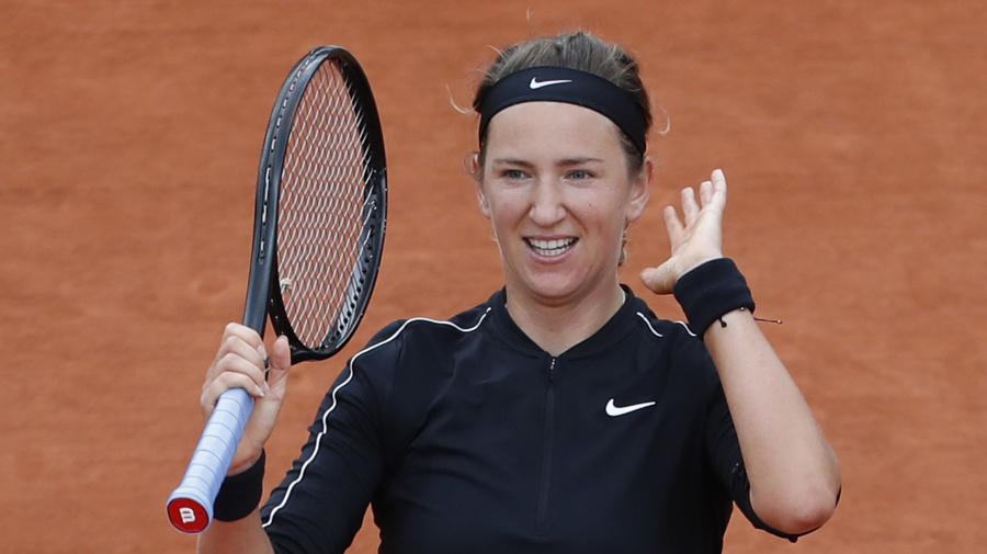 Azarenka 'nervous' about fans at French Open