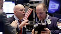 Stocks down sharply to end week
